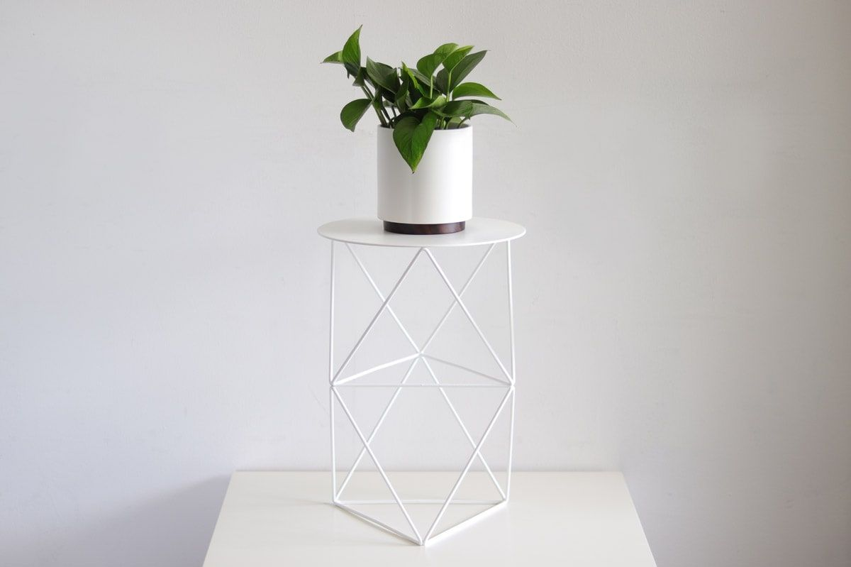 Octahedron Plant Stand Tall - alt