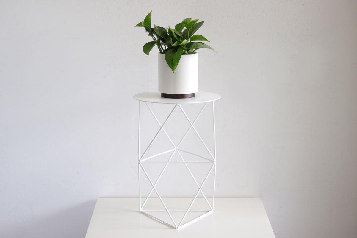 Octahedron Pedestal Tall - alt