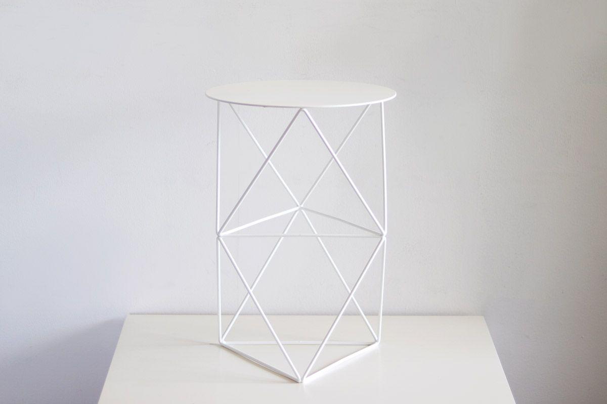 Octahedron Pedestal Tall