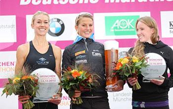Laura placed 2nd in the Munchen Half Marathon.