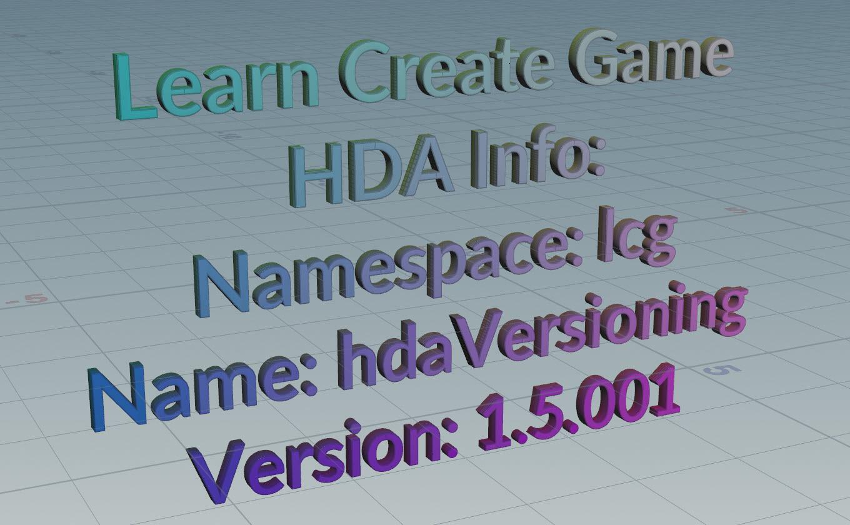 HDA Versioning