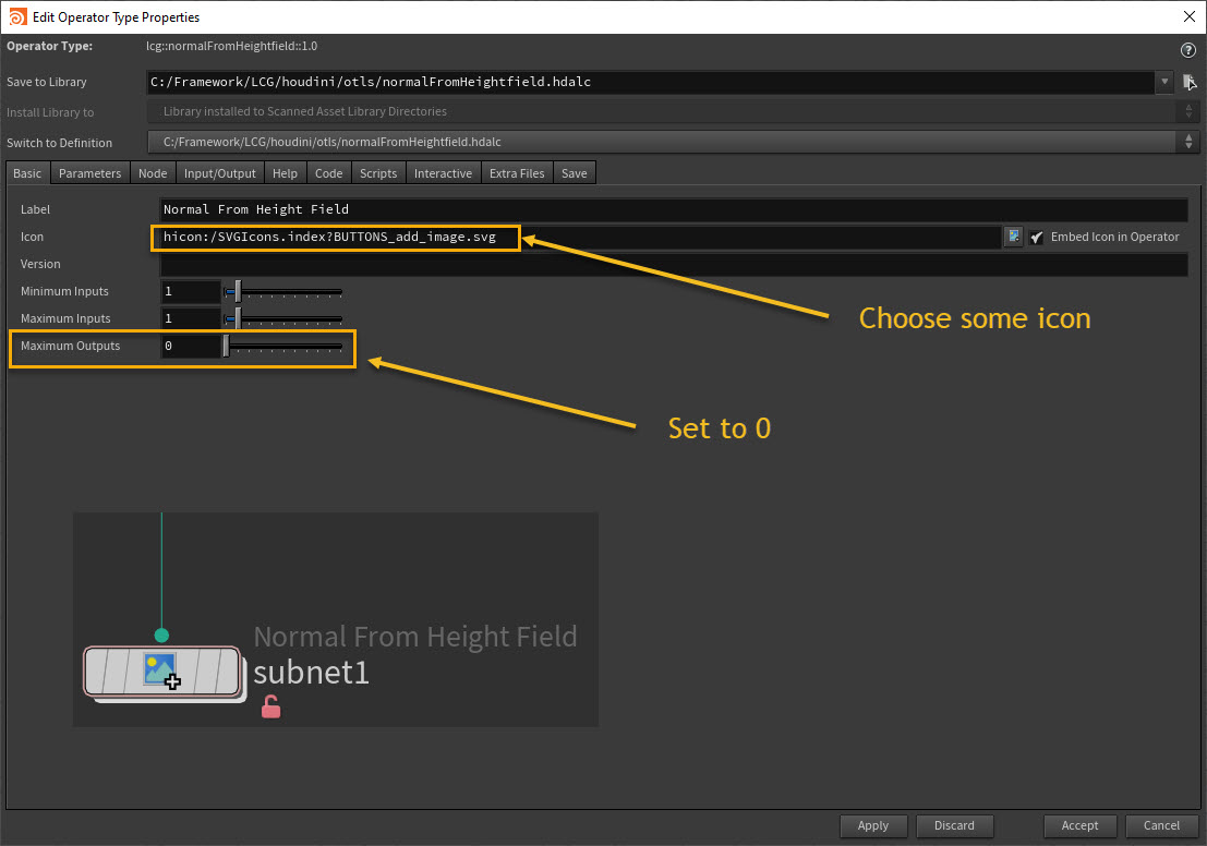 Hda basic settings