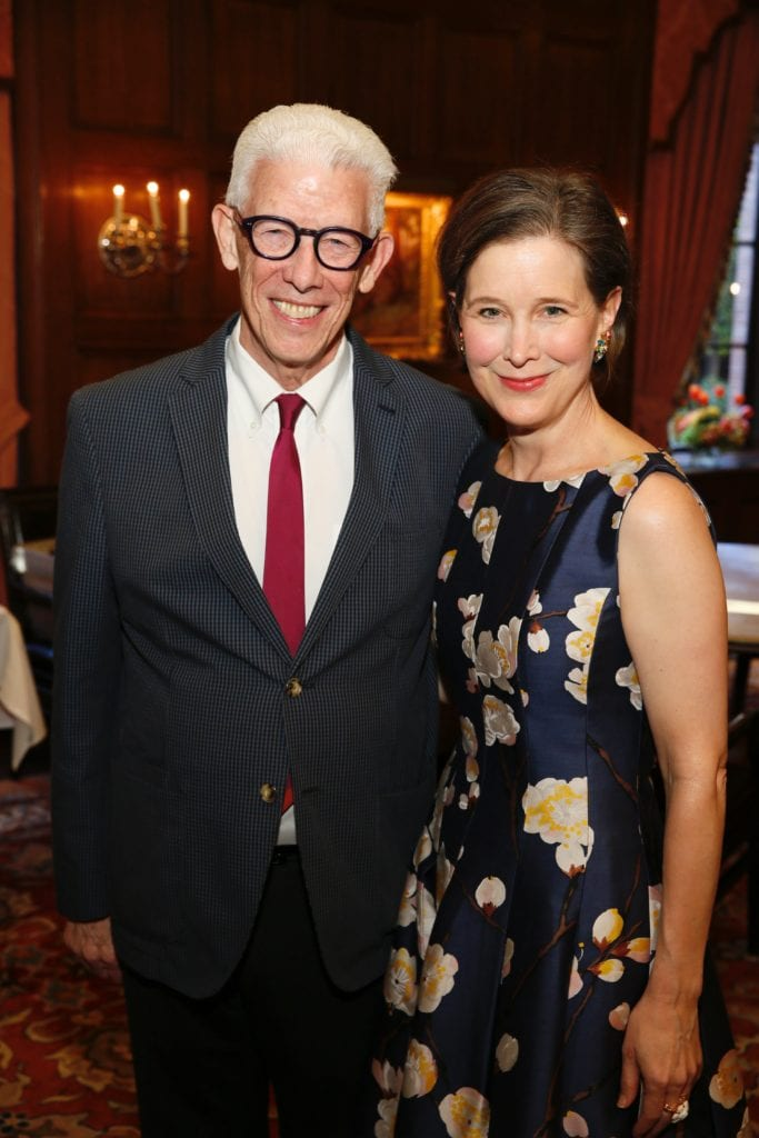 LFLA President Ken Brecher with Ann Patchett. (Photo by Ryan Miller/Capture Imaging)