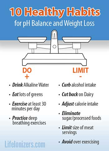 10 Ways to Raise Your pH Balance and Lose Weight