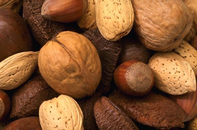 assorted nuts for a healthy heart image