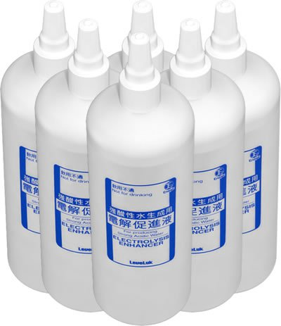 kangen water scam bottles of salt water image