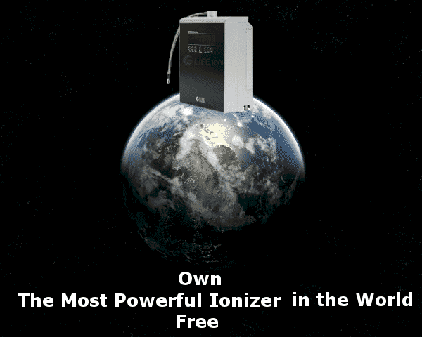 image of a free life water ionizer