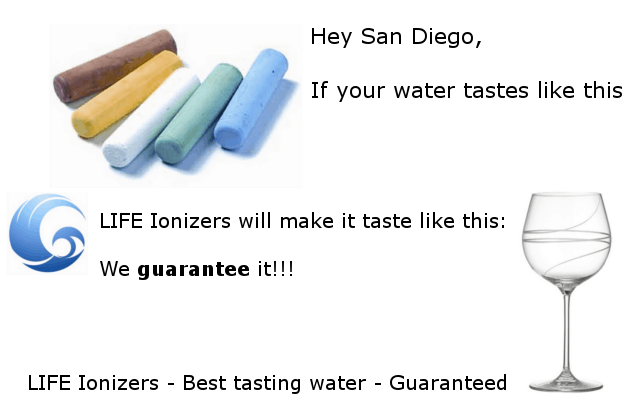 san diego tap water quality infographic