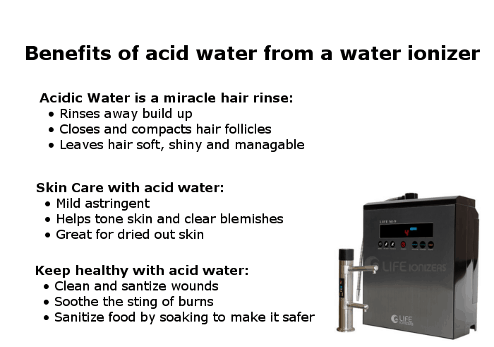 acid water benefits infographic