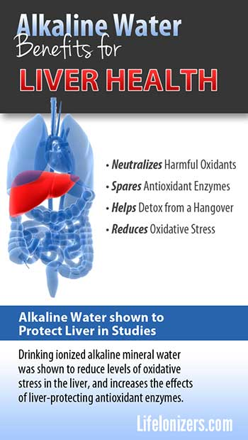 Alkaline Water shown to Protect Liver in Studies
