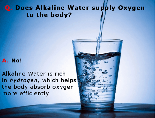 Is alkaline water oxygenated infographic