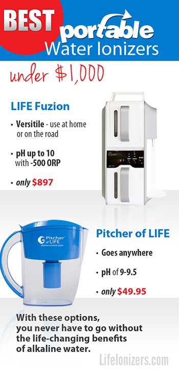 Water Ionizers for Travel