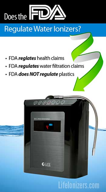 Does the FDA Regulate Water Ionizers?