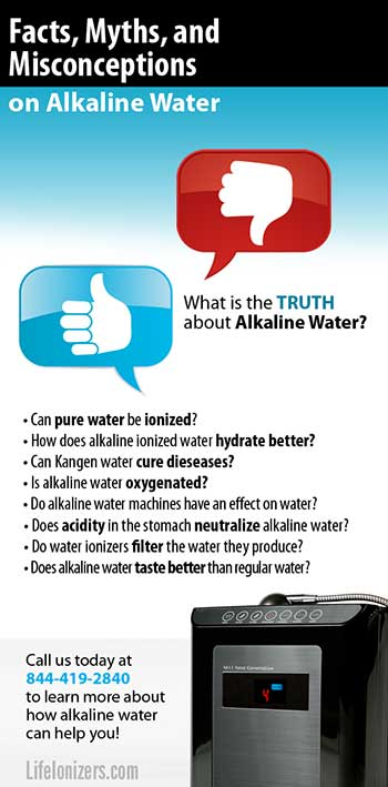 Alkaline Water Facts, Myths, and Misconceptions