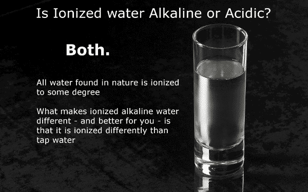 ionized water alkaline or acidic image