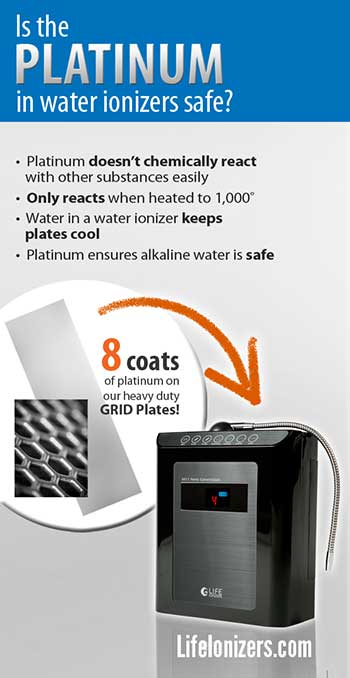 Is the Platinum in Water Ionizers Safe?