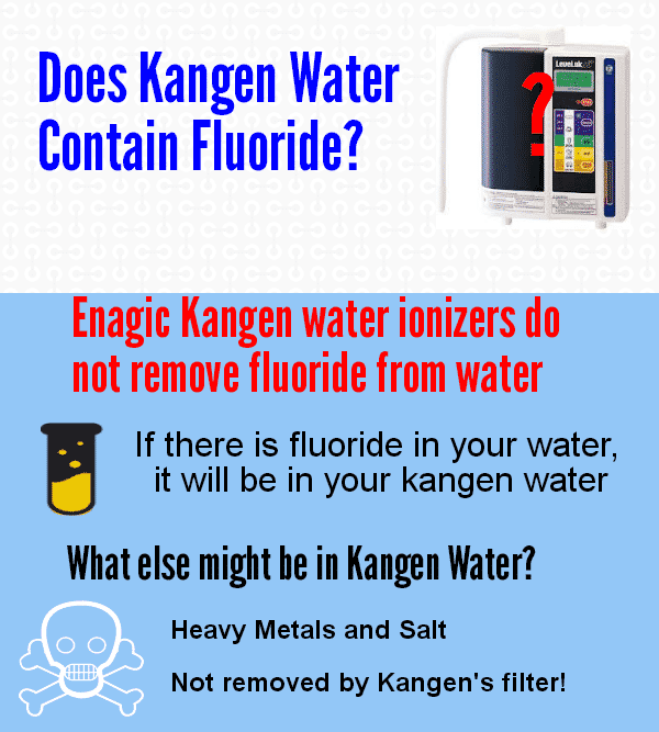 Does Kangen Water Contain Fluoride?