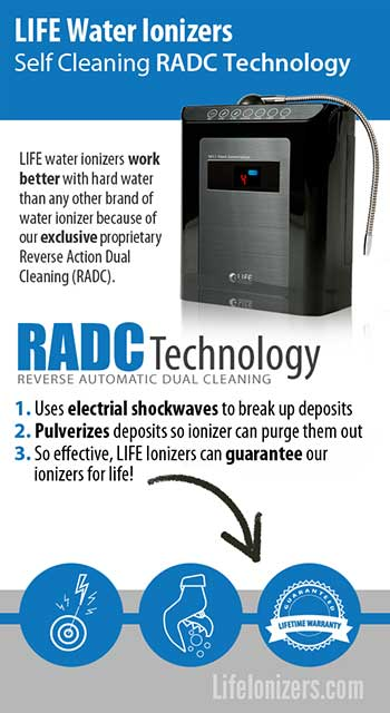 RADC self cleaning technology