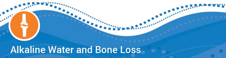 alkaline water benefits for bone loss