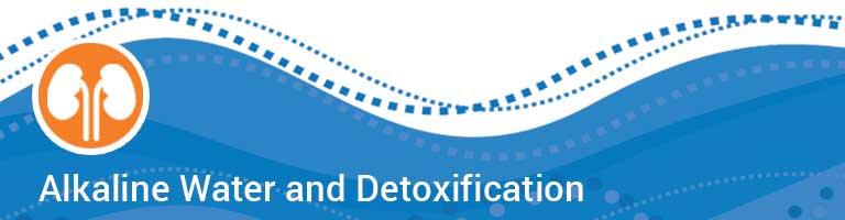 alkaline water and heavy metal detoxification