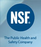 NSF International certifies products and sets standards for food, water and consumer goods