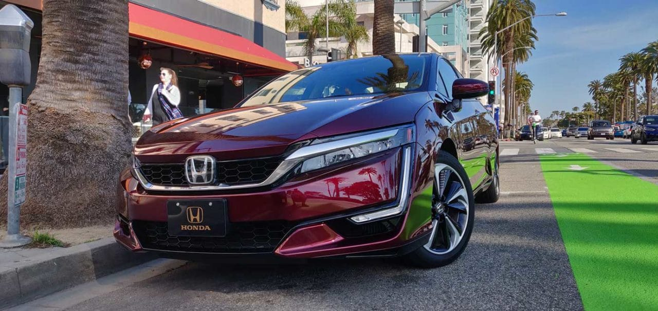 2018 Honda Clarity FCV | Live Media