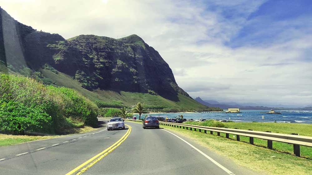Hawaii coastline drive.  Photo courtesy of LIVEfeed
