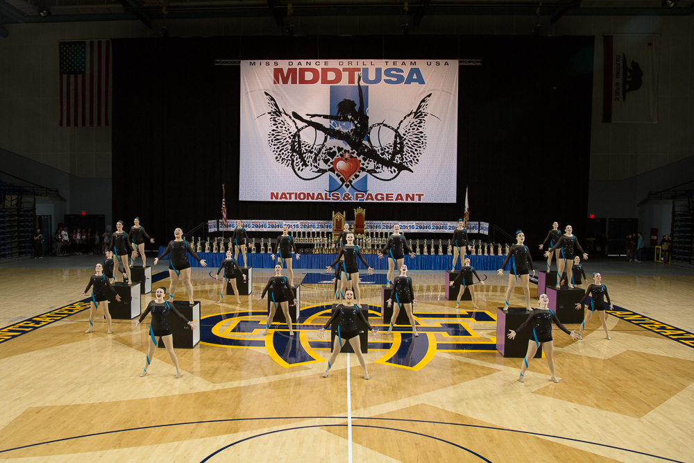 LA Event Videography Miss Dance Drill Team USA 2016 UCI