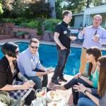 Guests at Grant Recipient Reception
