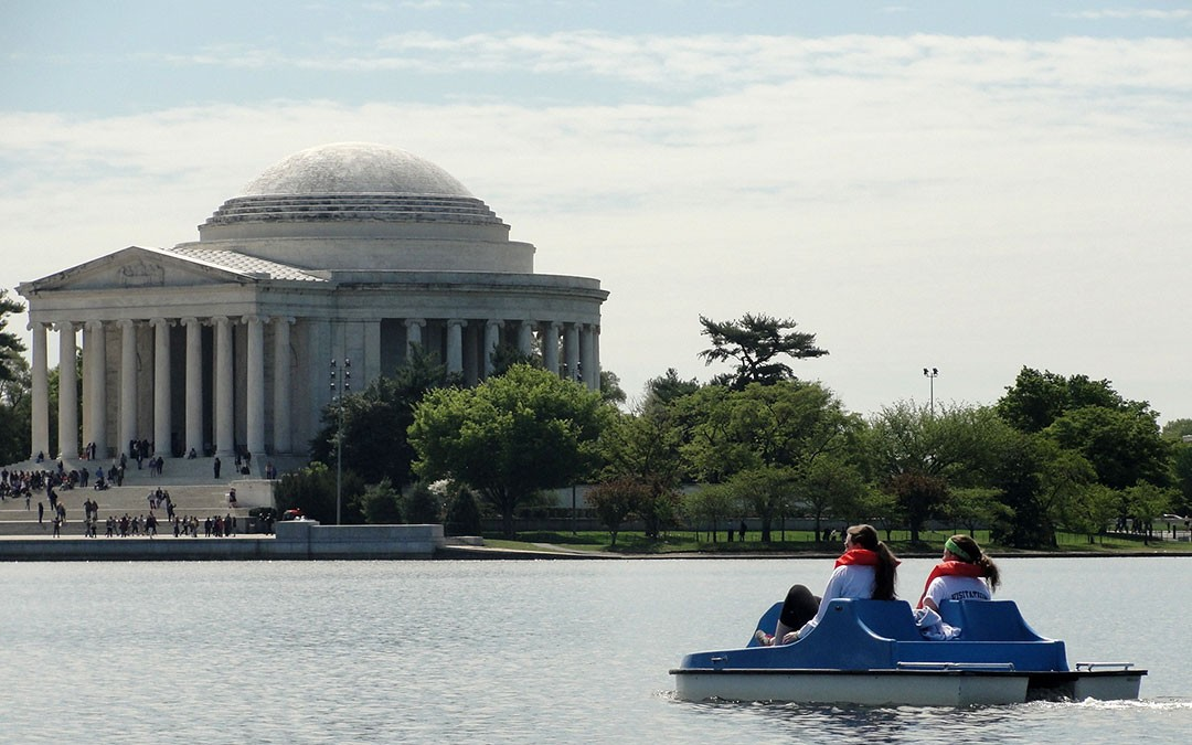 The Head of the Tidal Basin Paddleboat Race – April 26, 2015
