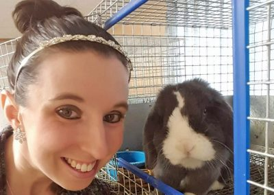 Ashley – Bunnies = Best Therapy