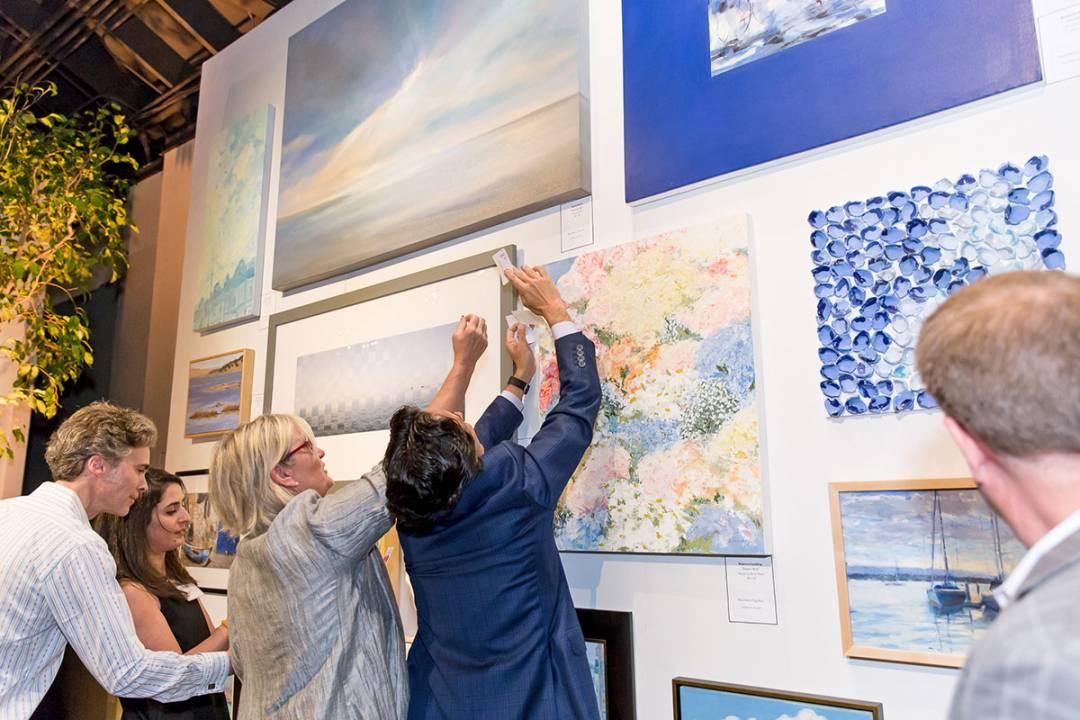 LymeLight Foundation Dart for Art 2017