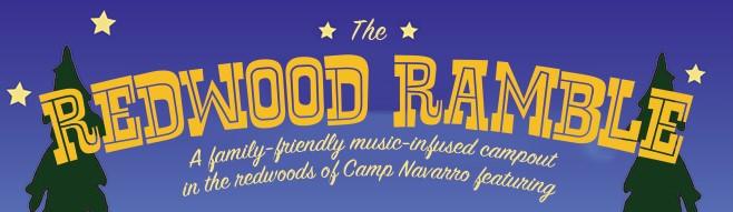 2016 Redwood Ramble Music Festival – Navarro, CA Poster