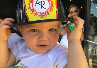 LymeLight Supported Event Lift for Lyme Baby Fire Helmet