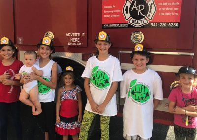 LymeLight Supported Event Lift for Lyme Kids Firetruck