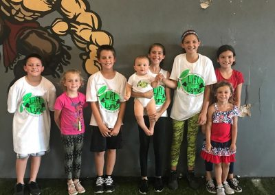 LymeLight Supported Event Lift for Lyme Kids on Wall