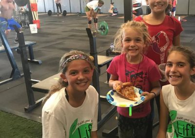 LymeLight Supported Event Lift for Lyme Pizza and Gym