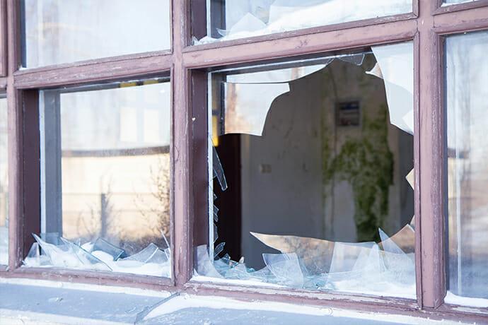 Vandalism Damage & Vandalism Repair