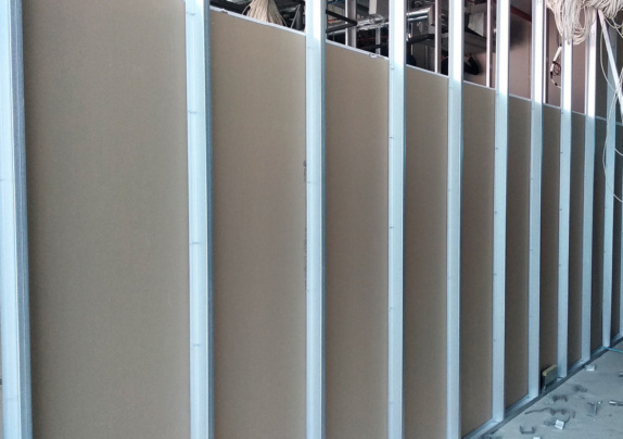 studs drywall finishing