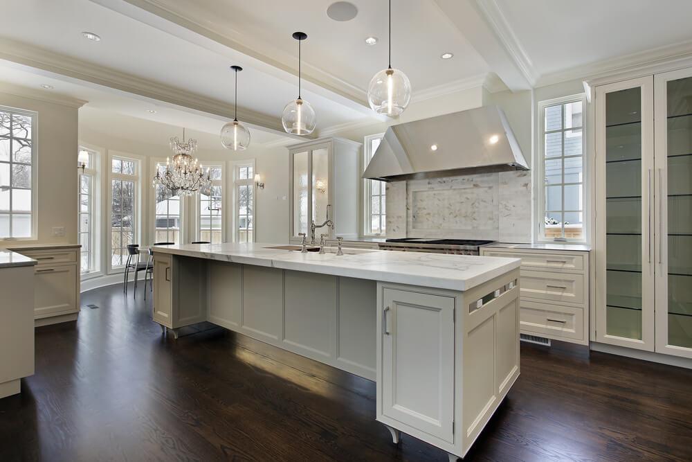 Modern lighting for modern kitchens