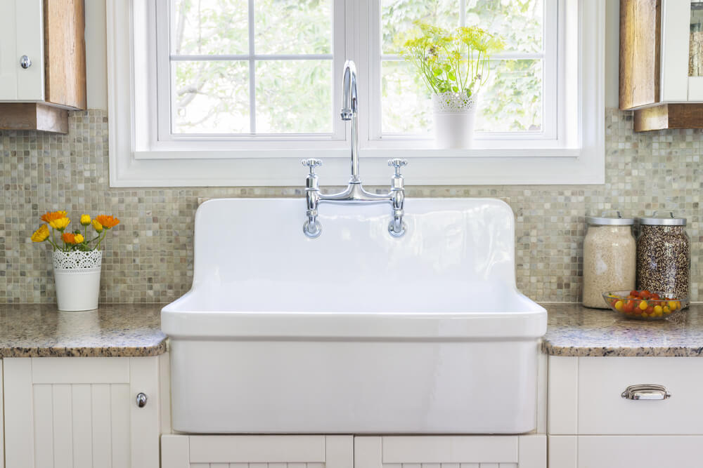 The kitchen sink is an important piece to any home.