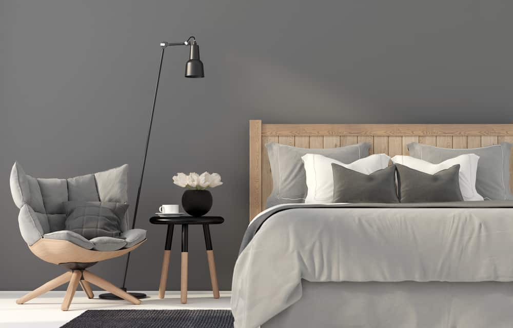 Modern gray bedroom ideas