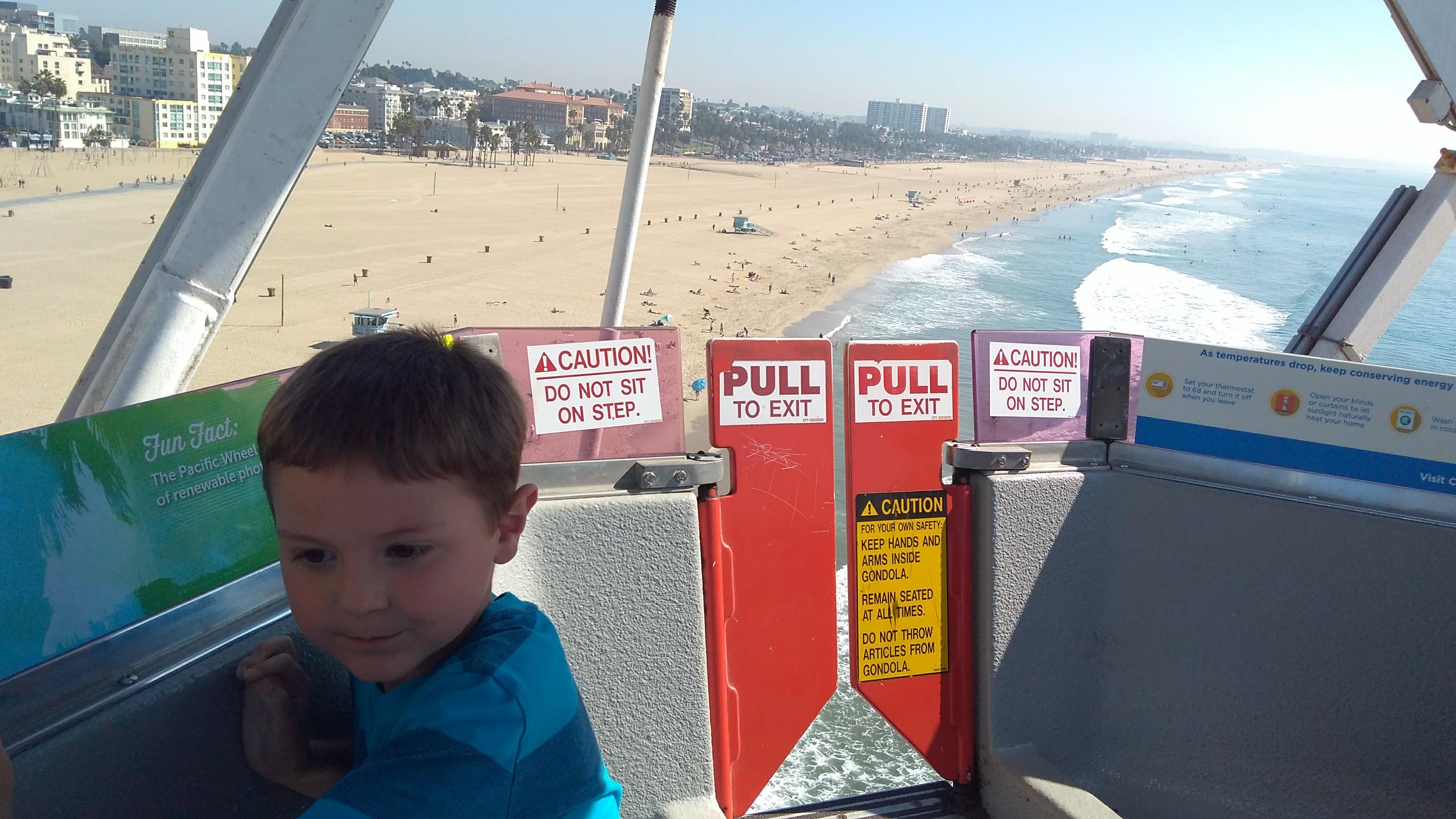 Bruce on Ferris Wheel