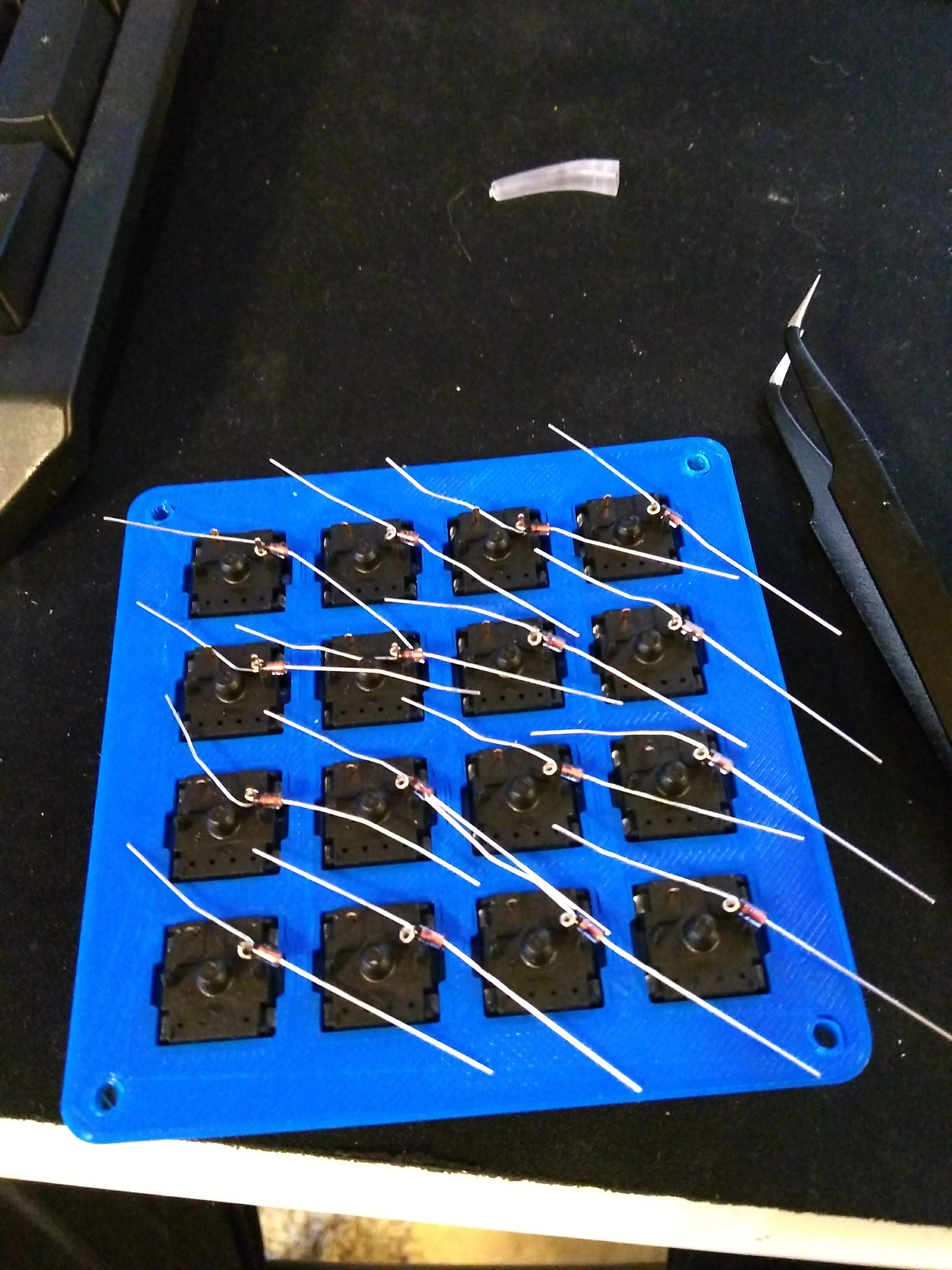 Diodes ready for solder