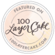 100 Layer Cake Badge