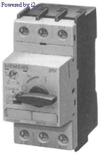 Siemens 3RV1021-1HA10 Motor Control