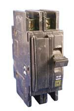 Square D QOU220 Circuit Breakers