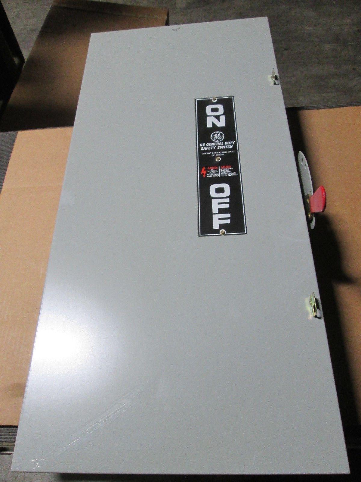 GE TGN3324 Motor Control