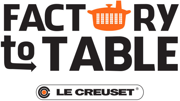 Factory To Table and Le Creuset