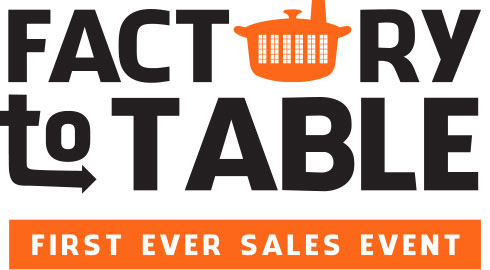 Factory to Table logo